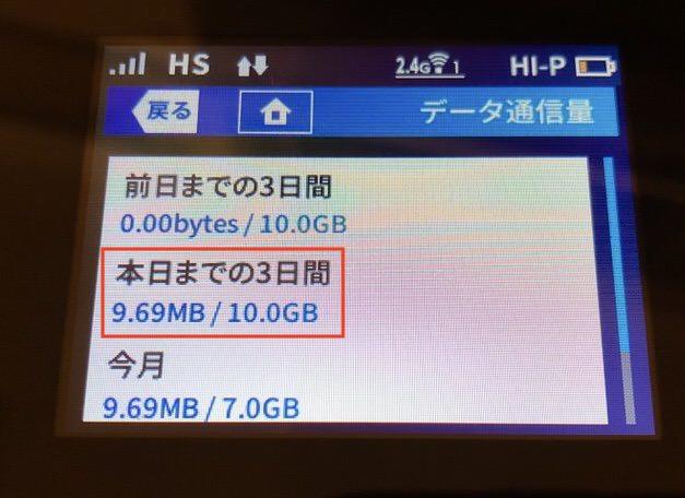 24分のプレイで9.8MB