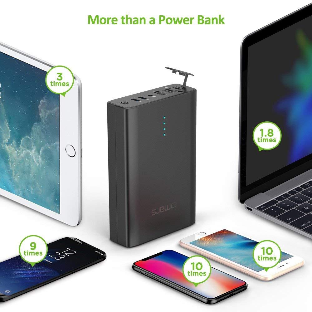 Omars ポータブル電源 AC出力対応 モバイルバッテリー 146Wh 40200mAh