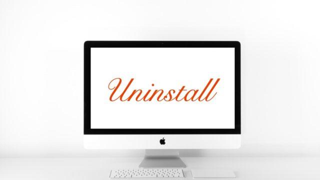 macアプリのアンインストールがうまくいかない場合のおすすめ削除方法