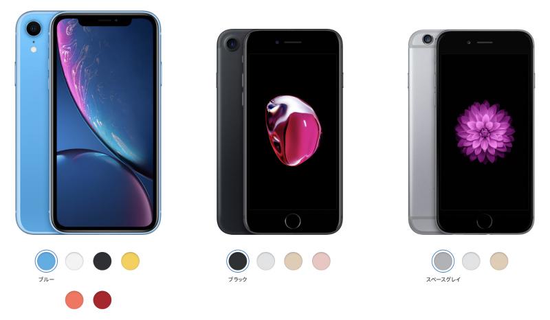 iPhoneのSIMフリー