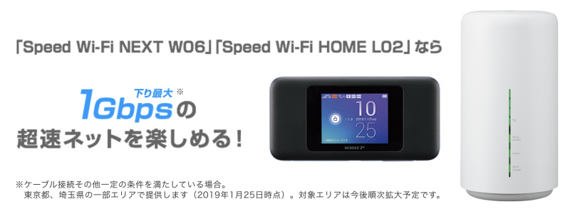WiMAXの最高速度