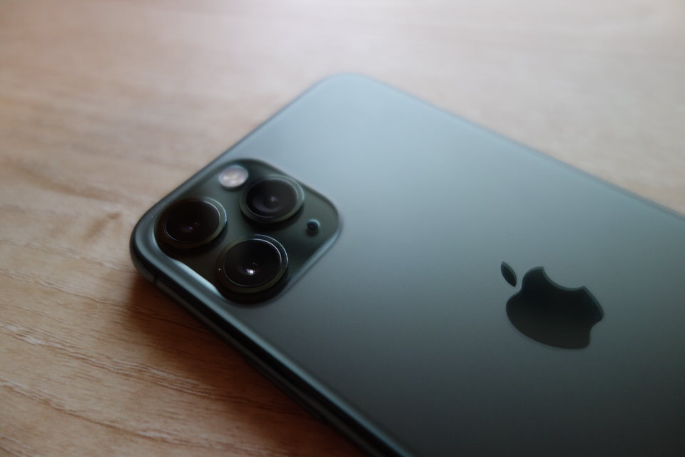 iPhone11 Proのトリプルカメラ