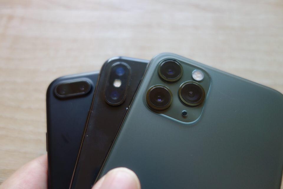 カメラのレンズは大幅に進化