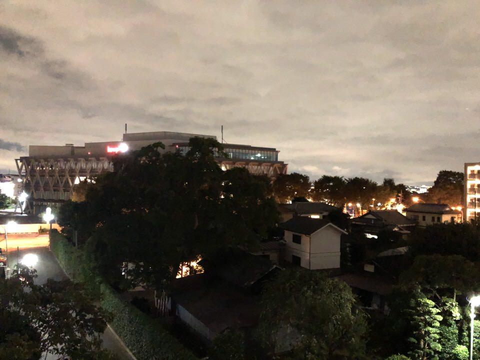 iPhoneXで撮影した夜景