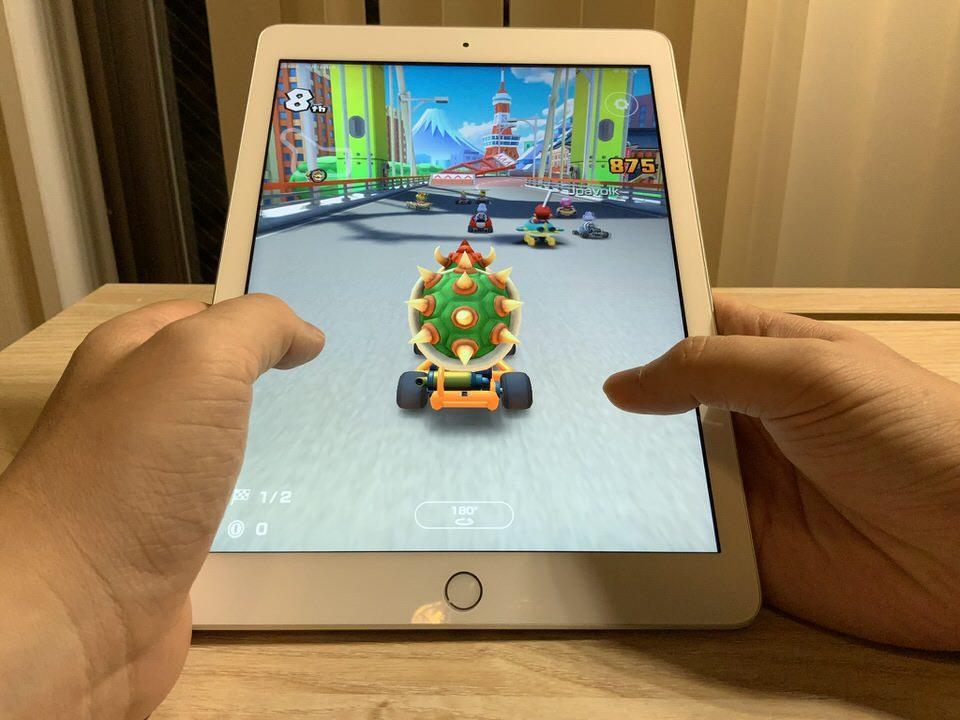 iPadでゲームアプリをプレイする