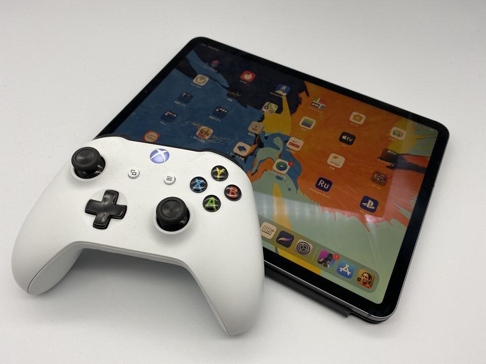 iOS13、iPadOSとXboxコントローラーを接続