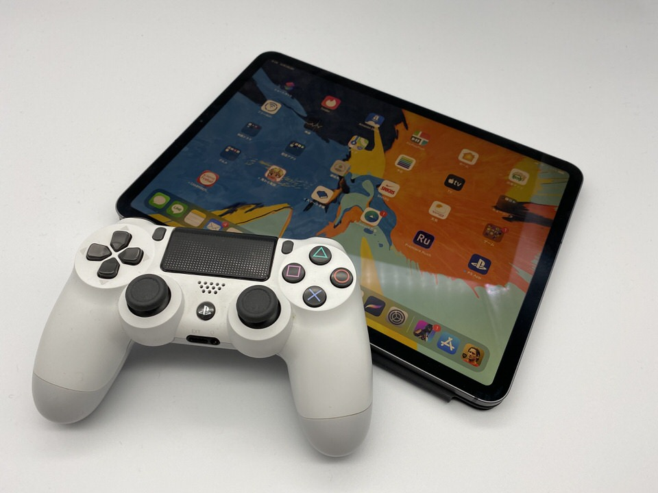 iOS13、iPadOSとPS4コントローラーを接続