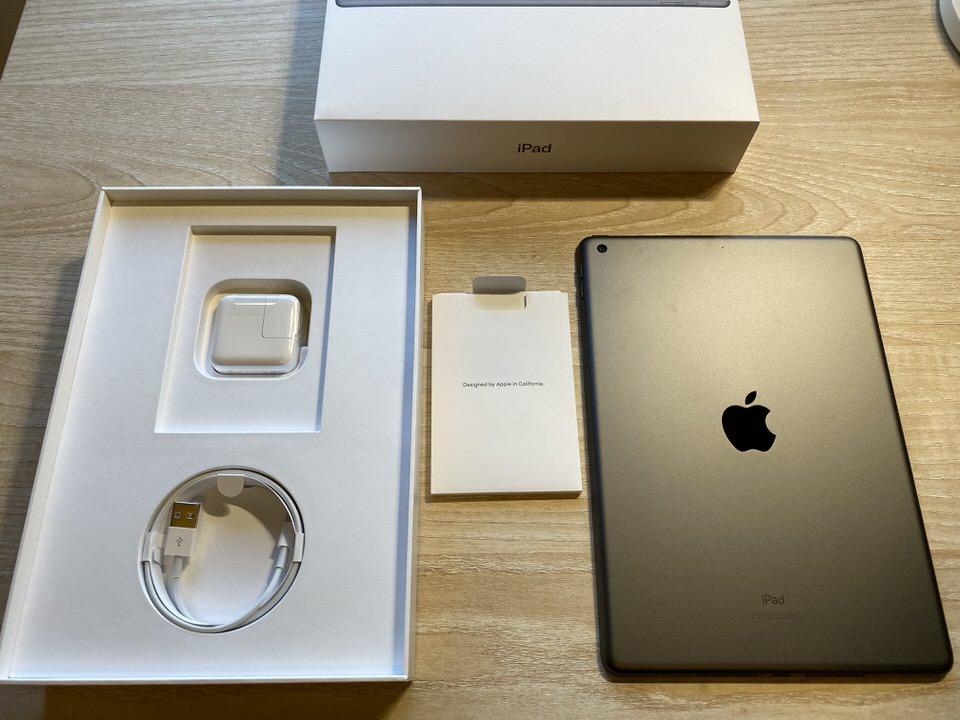 iPad10.2インチ7世代の付属品