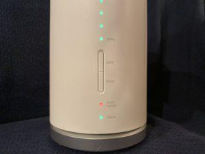 Speed Wi-Fi HOME l01sのモードアップデートのランプが赤点滅している時の対処
