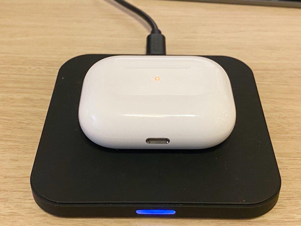 AirPods ProもワイヤレスQi充電に対応