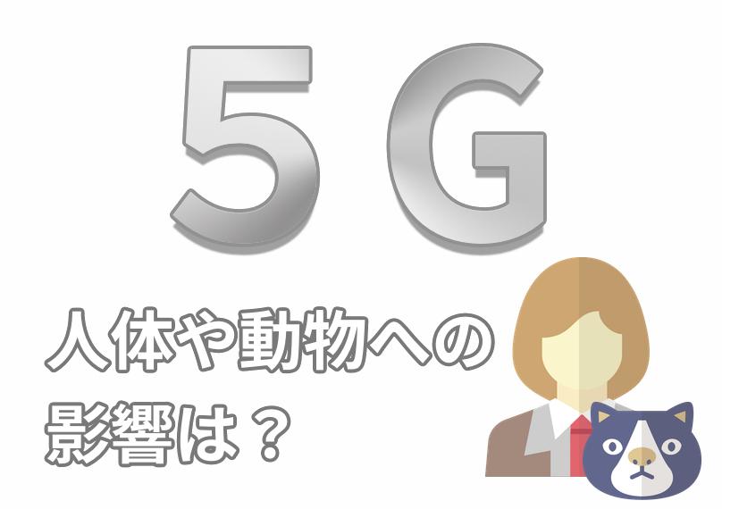 5Gの人体への影響