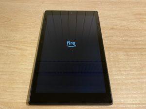 Fire HD 10の初期設定の流れと推奨の設定