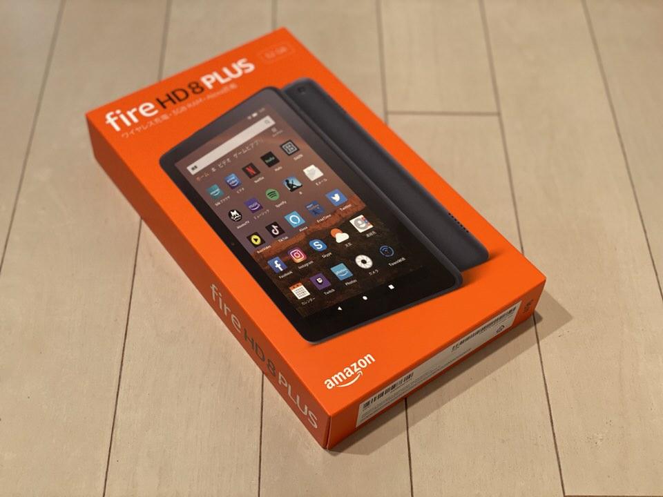 「Fire HD 8 Plus」レビュー。1万円以下のAmazonタブレットは実用的なのかチェック。