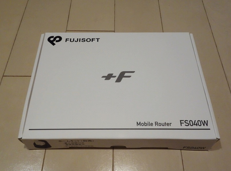 FS040Wの箱