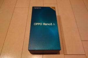 OPPO Reno3 Aのレビューとスペックは妥当?RenoAとの簡単な比較検証。