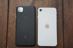 【実機の比較検証】Pixel 4aとiPhone SE。あなたならどっちを買う?