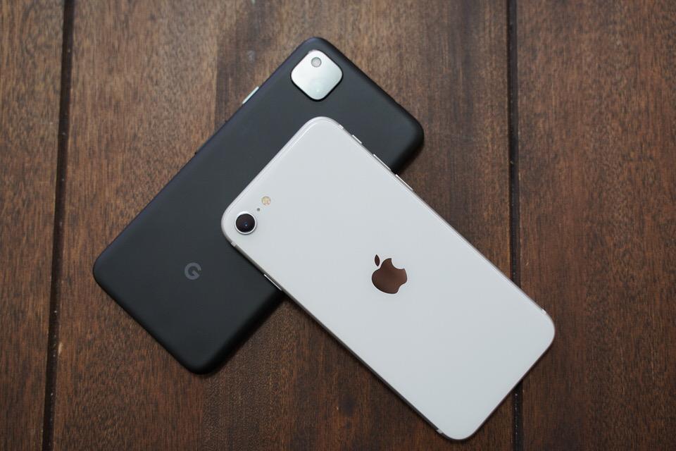 Pixel 4aとiPhone SEの比較まとめ