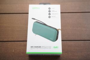 【レビュー】IDMIX GaN「Idmix CH08」モバイルバッテリーはコンセント不要